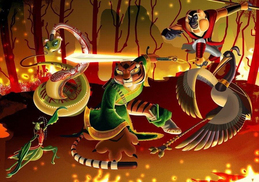Curiosidades de Kung Fu Panda